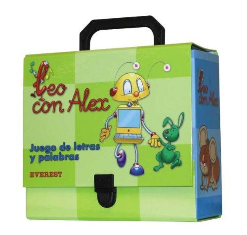 9788424182274: Leo con Álex. Juego de letras y palabras (Leo con Álex. Libros de lectura)