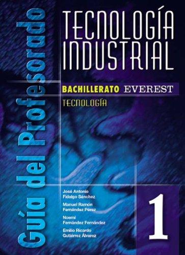 9788424182298: Tecnología industrial 1º Bachillerato. Guía del profesorado: Tecnología.