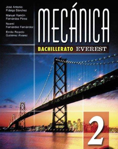 9788424182359: Mecánica 2º Bachillerato (Bachillerato Everest) - 9788424182359