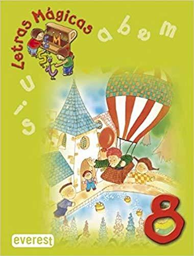 9788424182540: Letras mágicas 8 - 9788424182540