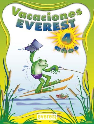 9788424182564: Vacaciones, educación infantil, 4 años (Vacaciones Everest) - 9788424182564