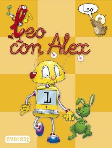9788424182588: Leo con Alex 1. Leo - 9788424182588