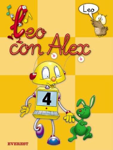 9788424182618: Leo con Álex 4. Leo (Leo con Alex) - 9788424182618