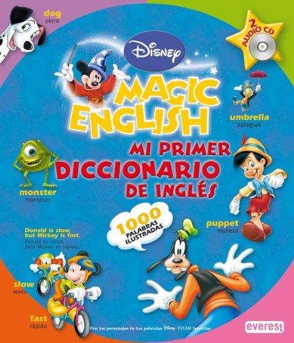 9788424183394: Disney's Magic English: Mi Primer Diccionario De Ingles