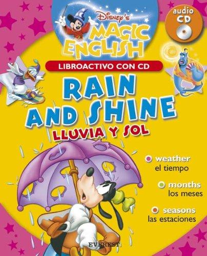 9788424183530: Rain and shine // Lluvia y sol (Magic english / Libroactivo con CD)