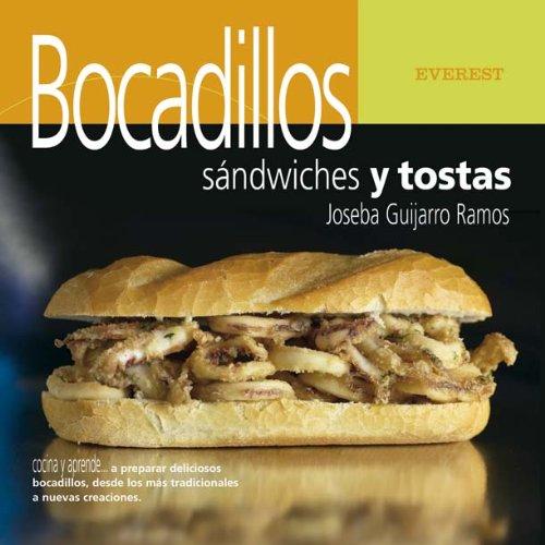 9788424185091: Bocadillos, sándwiches y tostas (Cocina y aprende)