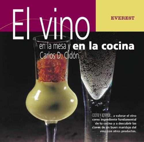 9788424188177: El vino en la mesa y en la cocina (Cocina y aprende)