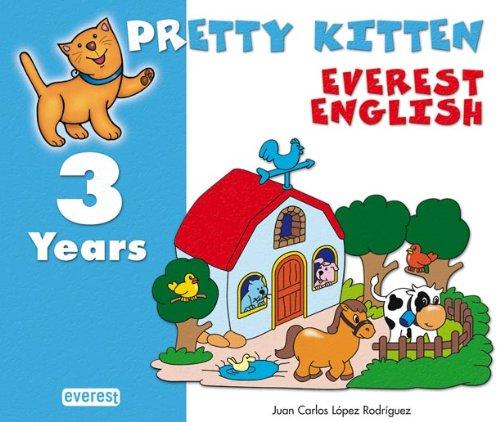 9788424188429: Pretty Kitten 3. Everest English. Educación Infantil - 9788424188429