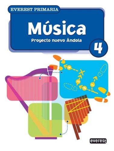 9788424188542: Música 4º Primaria. Proyecto Nuevo Ándola - 9788424188542