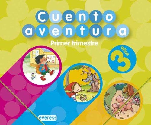 9788424188870: Cuentoaventura 3 años. Primer Trimestre: Educación Infantil - 9788424188870