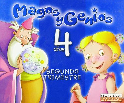 9788424189341: Magos y genios, Educación Infantil, 4 años. 2 trimestre