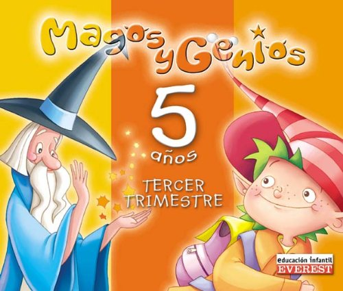 9788424189396: Magos y genios, 5 años. 3 trimestre