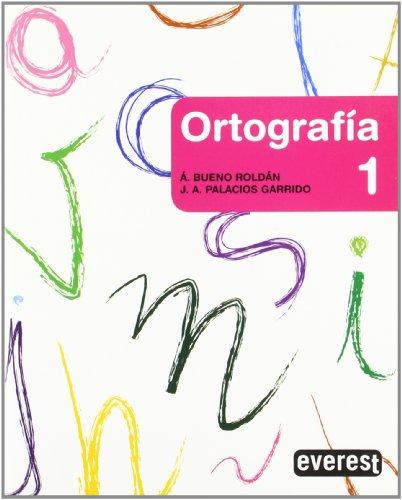 9788424190255: Cuaderno de ortografía 1, Educación Primaria