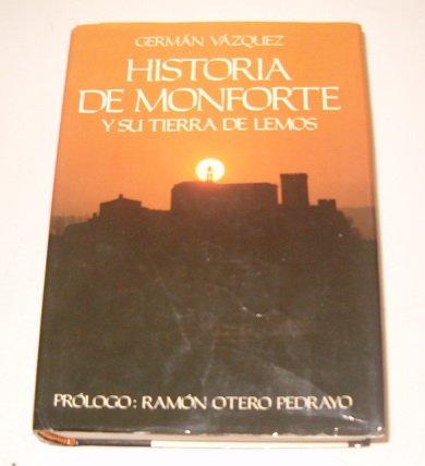 9788424198657: Historia de Monforte y su tierra de Lemos (Spanish Edition)