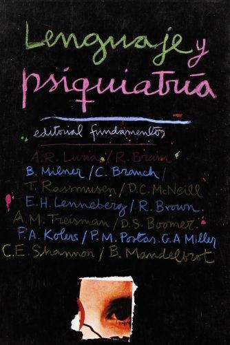 Lenguaje y psiquiatría: V.V.A.A