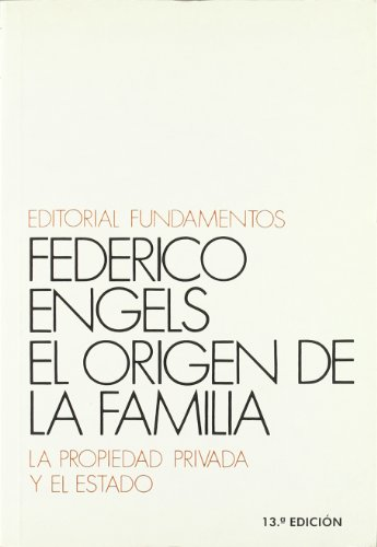 9788424500962: Origen de la Familia, Propiedad Privada y Estado