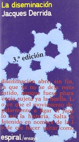 9788424501457: La Diseminacion (Spanish Edition)