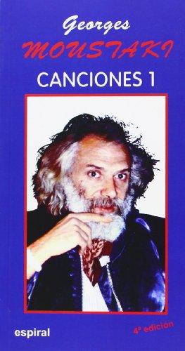 9788424503680: Canciones I de Georges Moustaki: 75 (Espiral / Canciones)