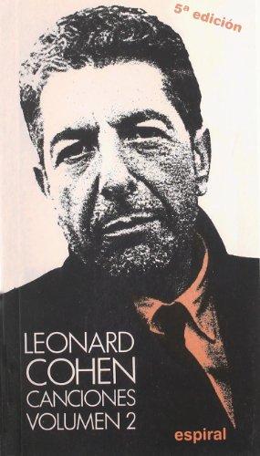 9788424505417: Canciones II de Leonard Cohen (Espiral / Canciones)