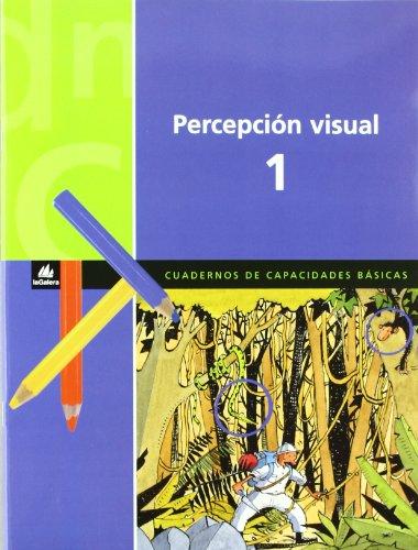 9788424600853: Cuaderno de Percepción visual 1