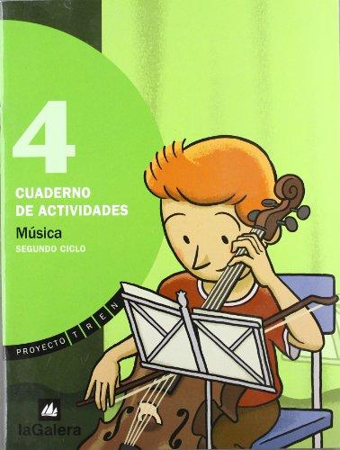 9788424608453: Proyecto Tren, música, 4º Educación Primaria, 2º ciclo. Cuaderno de actividades (TREN SEGUNDO CICLO)