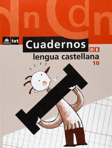 9788424608880: Cuaderno de Lengua castellana 10