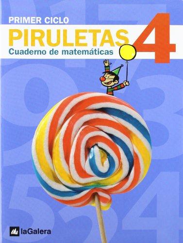 9788424612696: Piruletas Cuaderno de Matemáticas 4