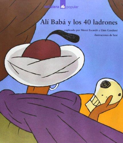 9788424619558: Alí Babá y los 40 ladrones (Popular)