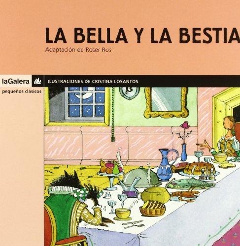 9788424625405: La Bella y la Bestia (Pequeños clásicos)