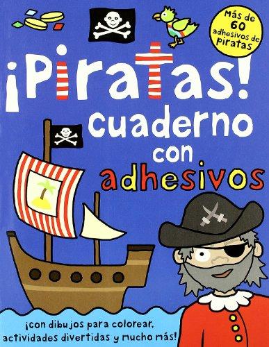 9788424637668: ¡Piratas!: Cuaderno de actividades con adhesivos (Libros juego)
