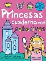 9788424637682: Princesas: Cuaderno de actividades con adhesivos (Libros juego)