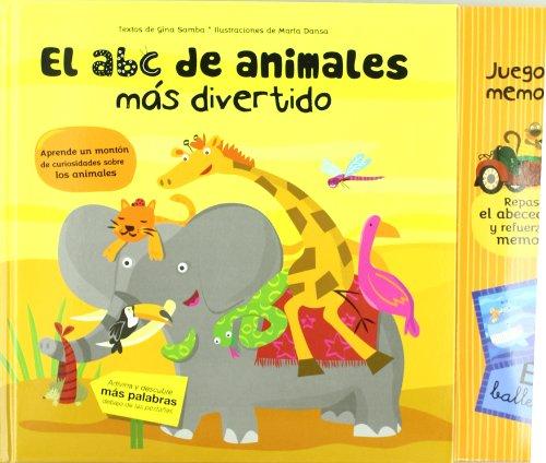 9788424637811: El ABC de animales más divertido (Libros juego)