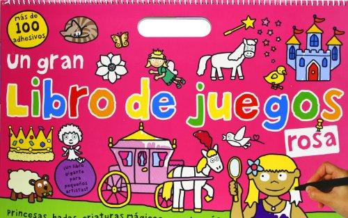 9788424643706: Un gran libro de juegos rosa