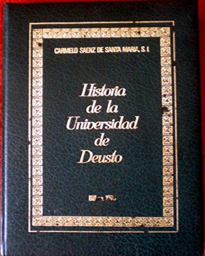 9788424803810: Histor De La Universidad De Deusto