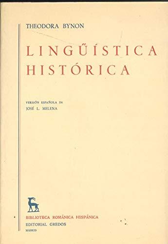 9788424900915: Linguistica Historica (Spanish Edition)