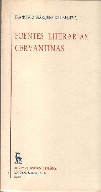 9788424905279: Fuentes literarias cervantinas (VARIOS GREDOS)