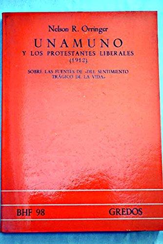 9788424909871: Unamuno y Los Protestantes Liberales 1912 (Biblioteca Hispanica de Filosofia) (Spanish Edition)