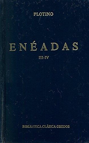 9788424910044: Enéadas. Libros III-IV (B. CLÁSICA GREDOS)
