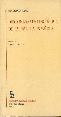 9788424910426: Diccionario linguistica escuela española (DICCIONARIOS)