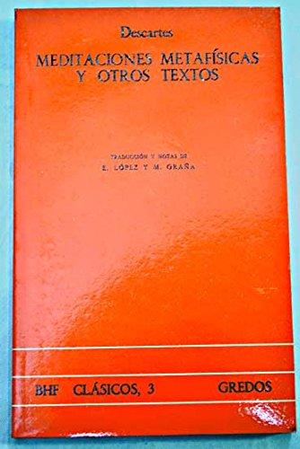 9788424910785: Meditaciones metafisicas y otros textos (VARIOS GREDOS)