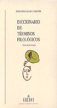 9788424911119: Diccionario terminos filologicos (DICCIONARIOS)