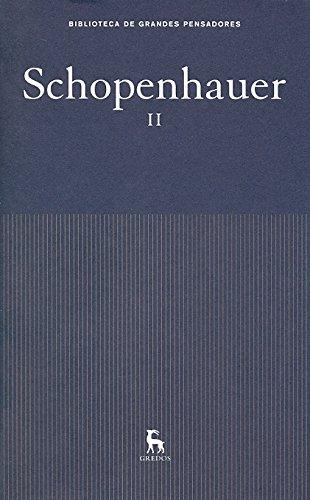 Schopenhauer. Obras.: Schopenhauer, Arthur