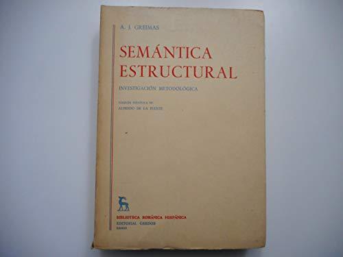9788424911799: Semantica Estructural (Spanish Edition)