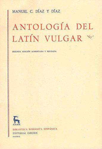 9788424913014: Antologa del latn vulgar