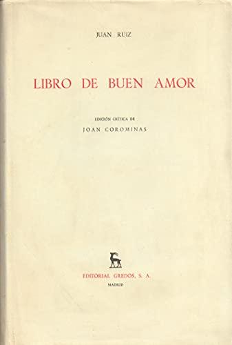 9788424913083: Libro del buen amor (VARIOS GREDOS)