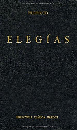 9788424914004: Elegías / Elegies (Spanish Edition)