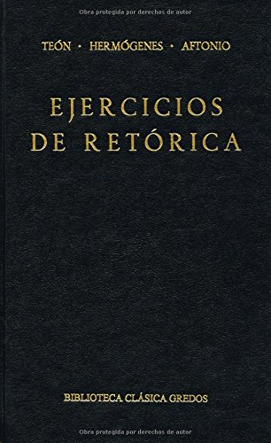 9788424914691: Ejercicios Retorica / Rhetoric exercises (Spanish Edition)