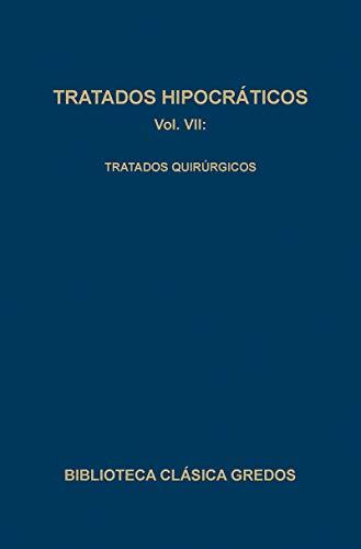 9788424916107: Tratados hipocraticos / Hippocratic Treatise: Tratados Quirurgicos (Spanish Edition)