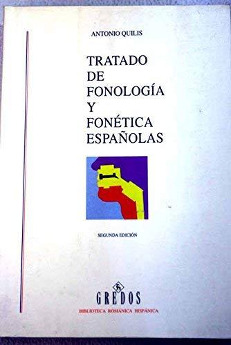9788424916251: Tratado de fonologia y fonetica españolas (Biblioteca Romanica Hispanica)