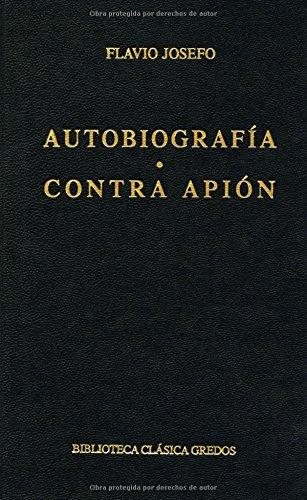 Autobiografia contra Apion: Flavio, Josefo